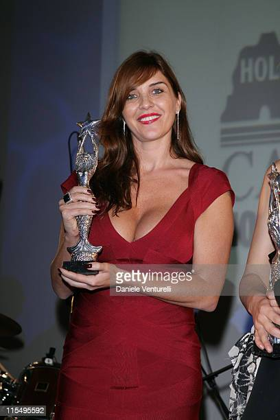 Gisella Marengo attends the fourth day of the 14th Annual Capri Hollywood International Film Festival on December 30 2009 in Capri Italy