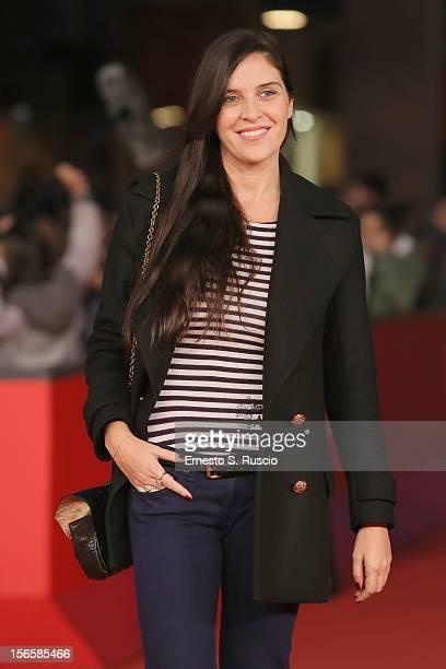 Gisella Marengo attends the 'Giuseppe Tornatore Ogni Film Un'Opera Prima' Premiere during the 7th Rome Film Festival at Auditorium Parco Della Musica...