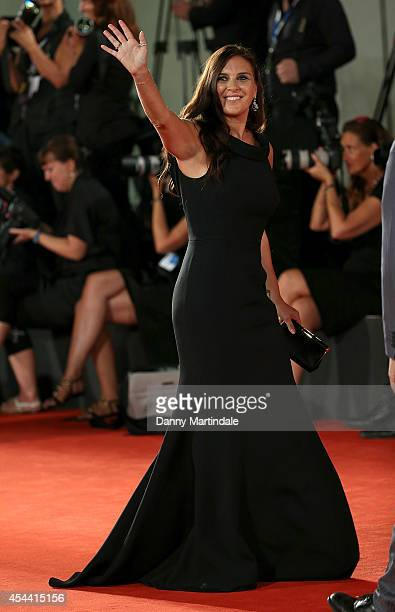 Gisella Marengo attends 'The Humbling' premiere at the 71st Venice Film Festival on August 30 2014 in Venice Italy