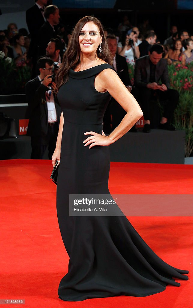 Gisella Marengo attends 'The Humbling' premiere during the 71st Venice Film Festival on August 30 2014 in Venice Italy