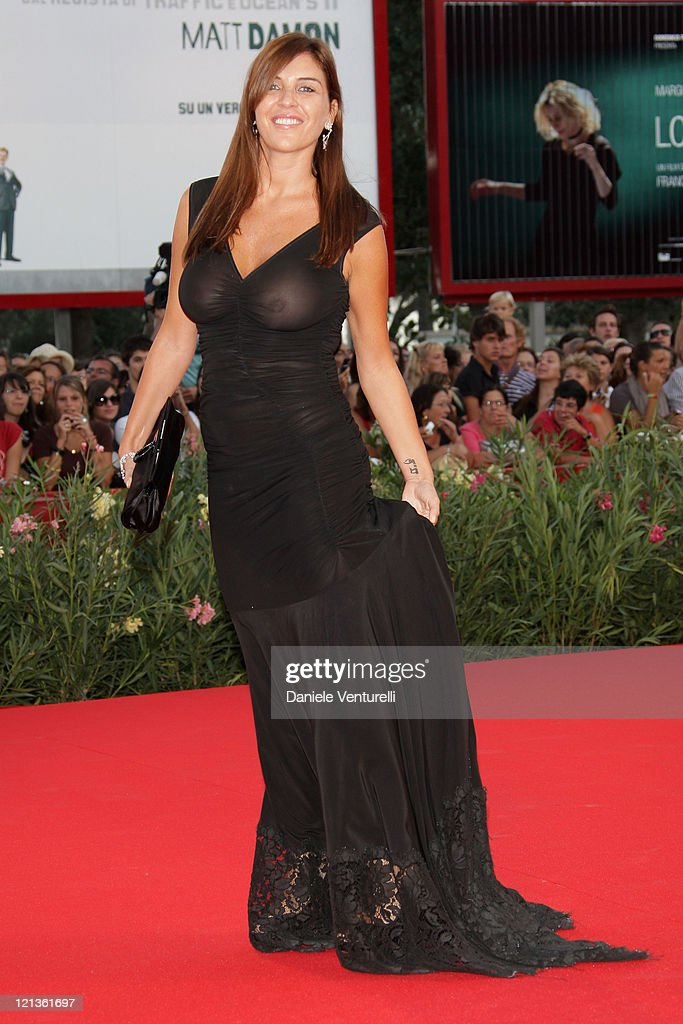 Gisella Marengo attends 'The Men Who Stare At Goats' Premiere at the Sala Grande during the 66th Venice Film Festival on September 8 2009 in Venice...