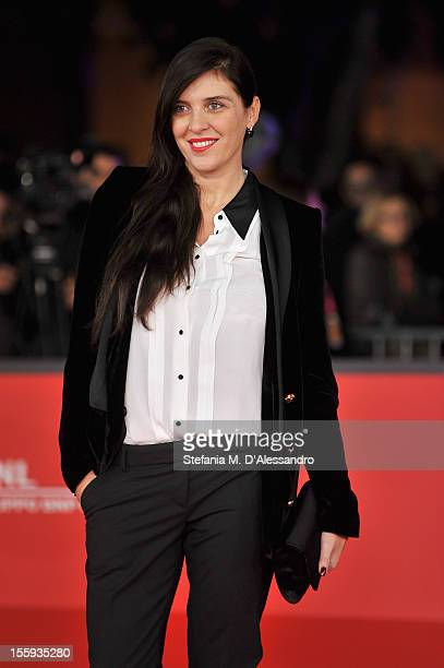Gisella Marengo attends the Opening Night and 'Waiting For The Sea' Premiere during the 7th Rome Film Festival at the Auditorium Parco Della Musica...