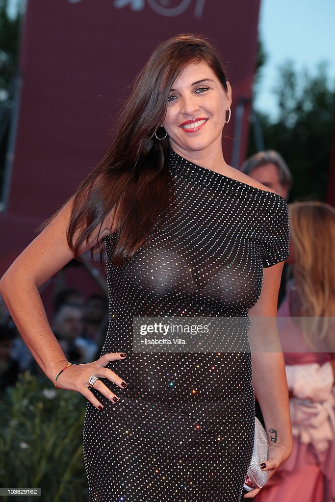 Gisella Marengo attends the 'Somewhere' premiere during the 67th Venice Film Festival at the Sala Grande Palazzo Del Cinema on September 3 2010 in...