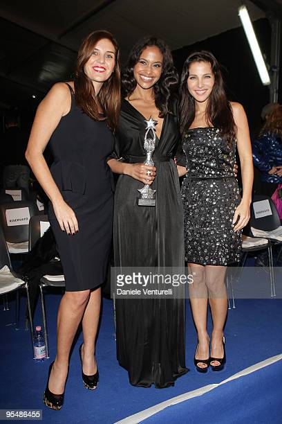 Gisella Marengo Shannon Kane and Elsa Pataky attend the third day of the 14th Annual Capri Hollywood International Film Festival on December 29 2009...