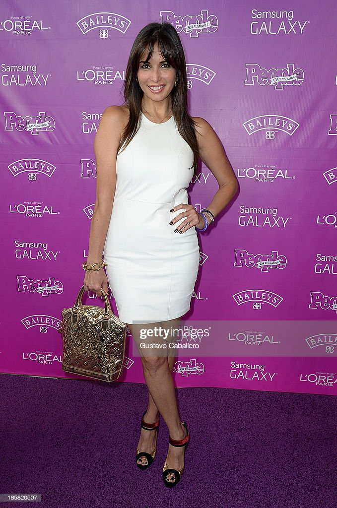 Giselle Blondet attends People En Espanols Las 25 Mujeres Mas Poderosas at Coral Gables Country Club on October 24, 2013 in Coral Gables, Florida.