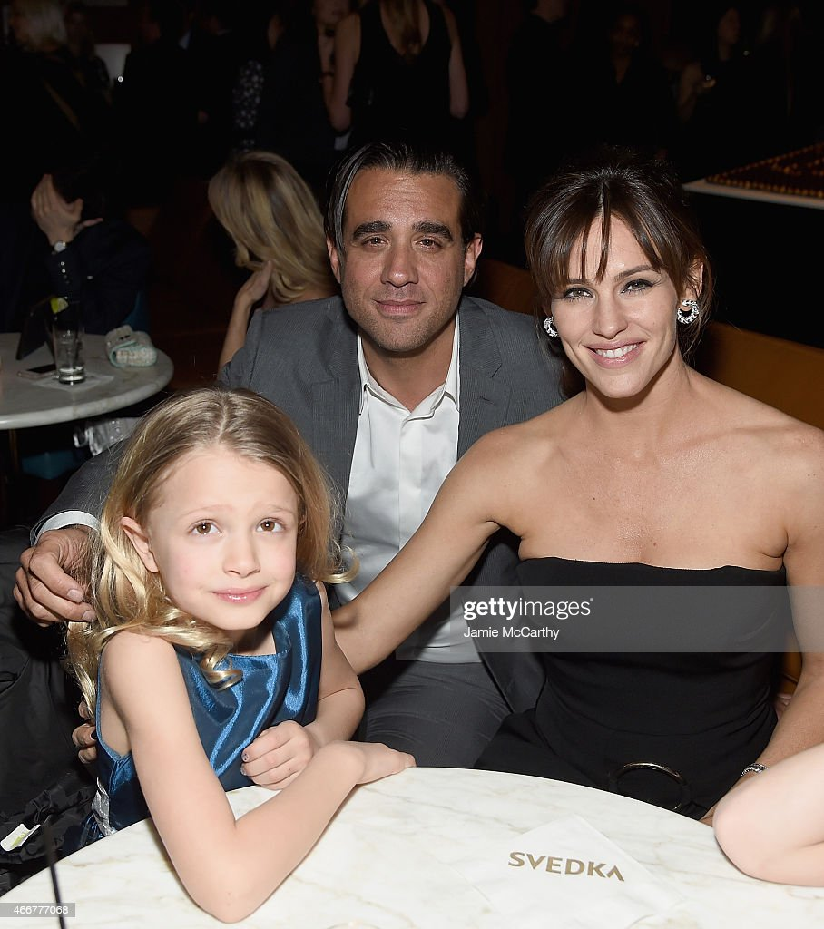 Giselle EisenbergBobby Cannavale and Jennifer Garner attend the 'Danny Collins' New York Premiere after party at the Stone Rose Lounge on March 18...