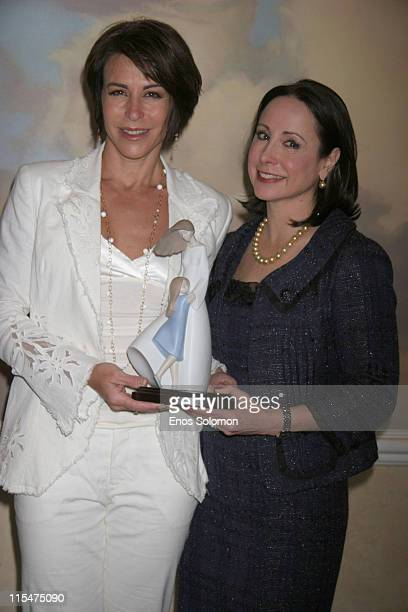 Giselle Fernandez and Dr Ava T Shamban during A Place Called Home 'Girlz In The Hood' Women Of Achievement Awards Luncheon June 6 2007 in Beverly...