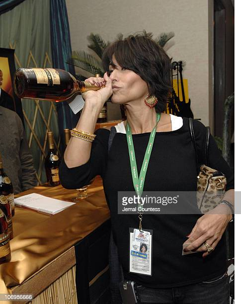 Giselle Fernandez at the Korbel VSOP Gift Station during The 7th Annual Latin GRAMMY Awards Backstage Lounge by Distinctive Assets Day 1 at Madison...