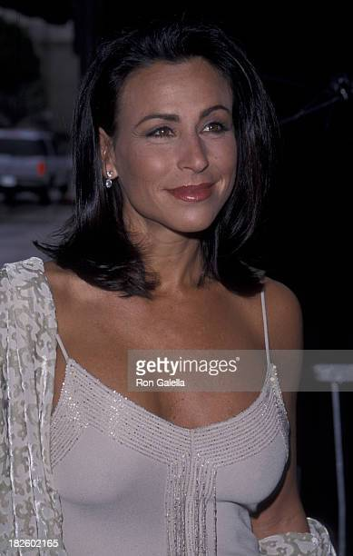 Giselle Fernandez attends Fourth Annual AMLA Awards on April 11 1999 at the Pasadena Civic Auditorium in Pasadena California