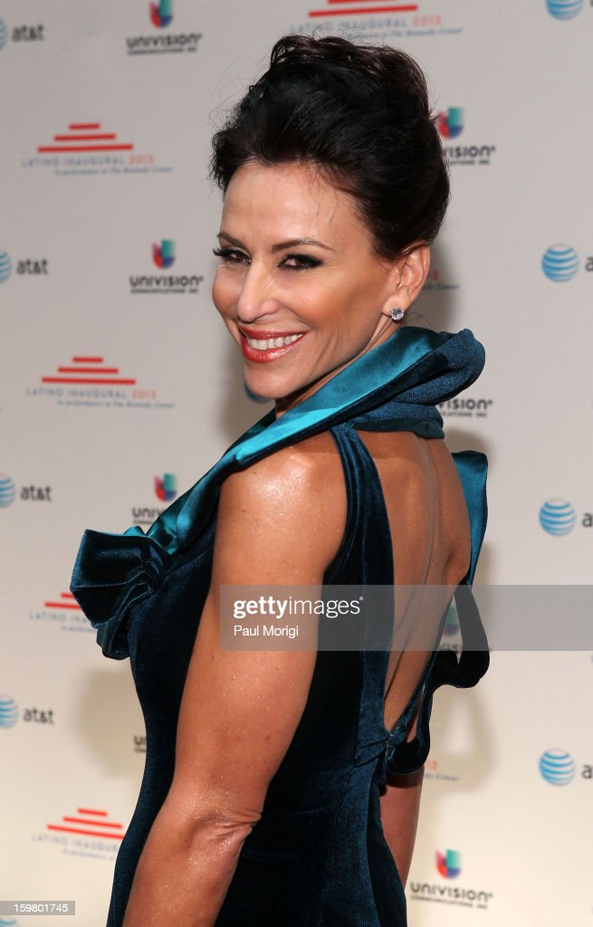 Giselle Fernandez attends the Latino Inaugural 2013 at The Kennedy Center on January 20, 2013 in Washington, DC.