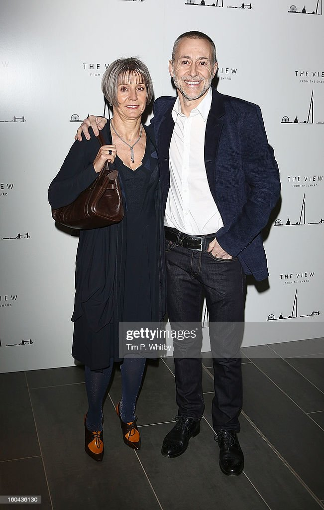 Giselle Roux and Michel Roux Jr attend 'The View from The Shard' launch party at The Shard on January 31, 2013 in London, England. The Shard is Western Europes tallest building and opens to the public on 1st February.
