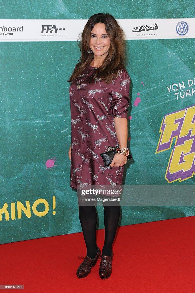 ÊGitta Saxx attend the premiere of the film 'Fack Ju Goehte' on October 29, 2013 in Munich, Germany.