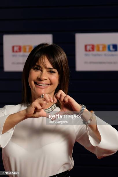 Gitta Saxx attends the 22nd RTL Telethon on November 24 2017 in Huerth Germany