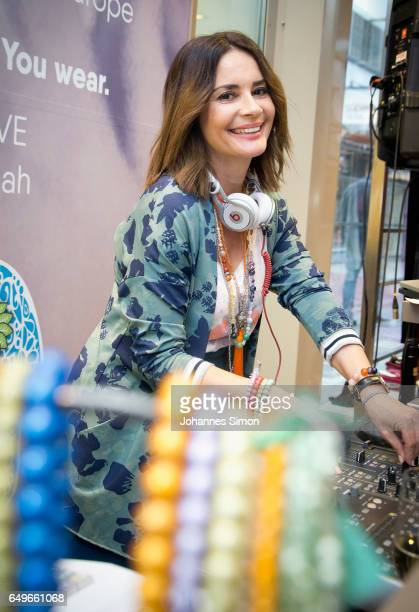 Gitta Saxx attends the Athleisure popup event and exhibition at Ingolstadt Village on March 8 2017 in Ingolstadt Germany