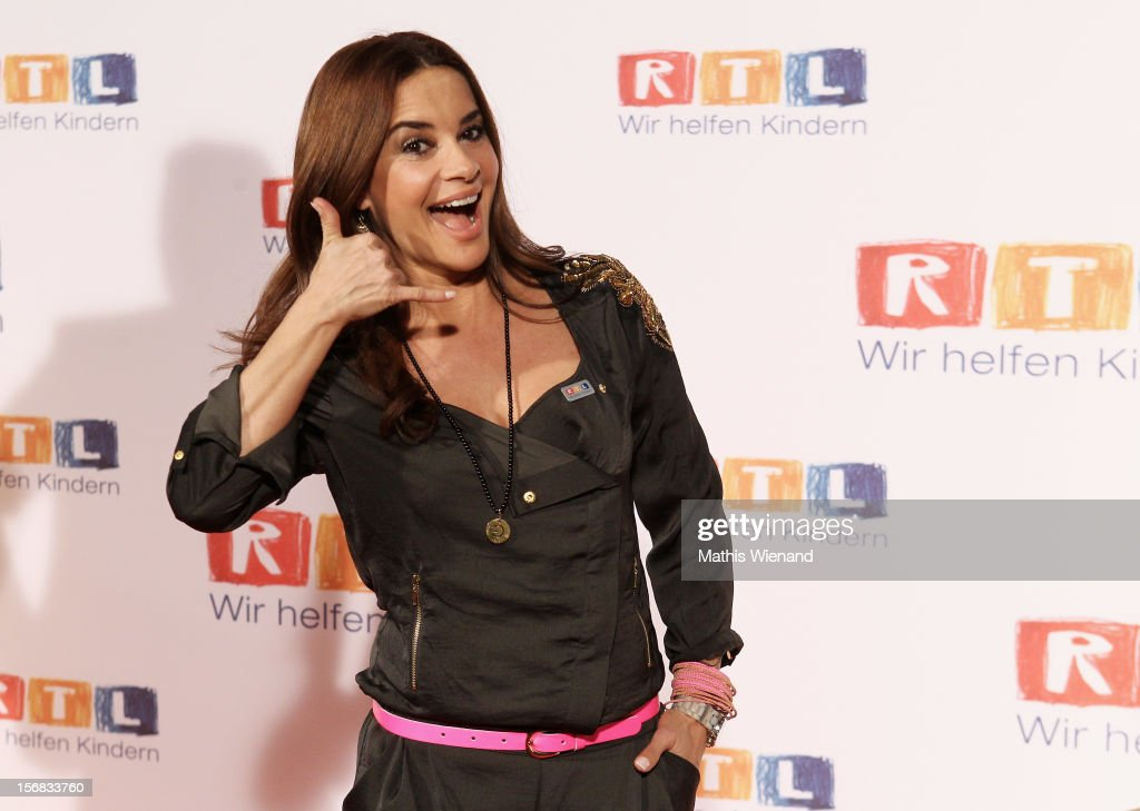 Gitta Saxx attends the 'RTL Spendenmarathon' at RTL Studio Huerth on November 22, 2012 in Cologne, Germany.