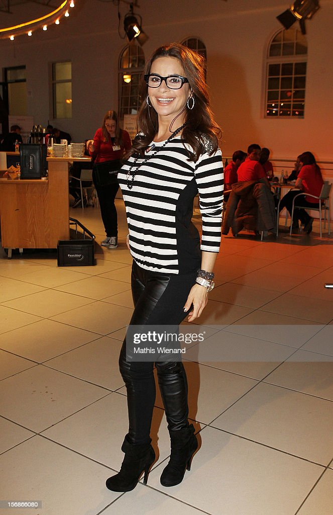 Gitta Saxx attends the 'RTL Spendenmarathon' at RTL Studios on November 23, 2012 in Cologne, Germany.
