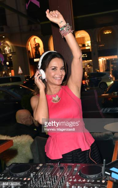 Gitta Saxx during the 'Die Kulisse Restaurant Reopening Party' on October 5 2017 in Munich Germany