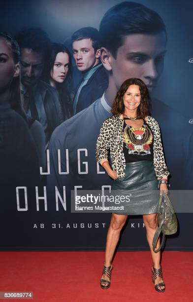 Gitta Saxx during the 'Jugend ohne Gott' premiere at Mathaeser Filmpalast on August 21 2017 in Munich Germany