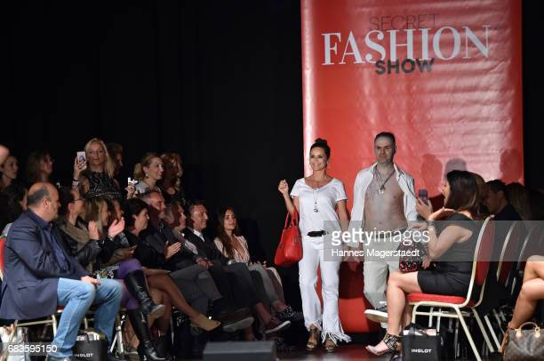 Gitta Saxx during the Secret Fashion Show at Alte Kongresshalle on May 15 2017 in Munich Germany