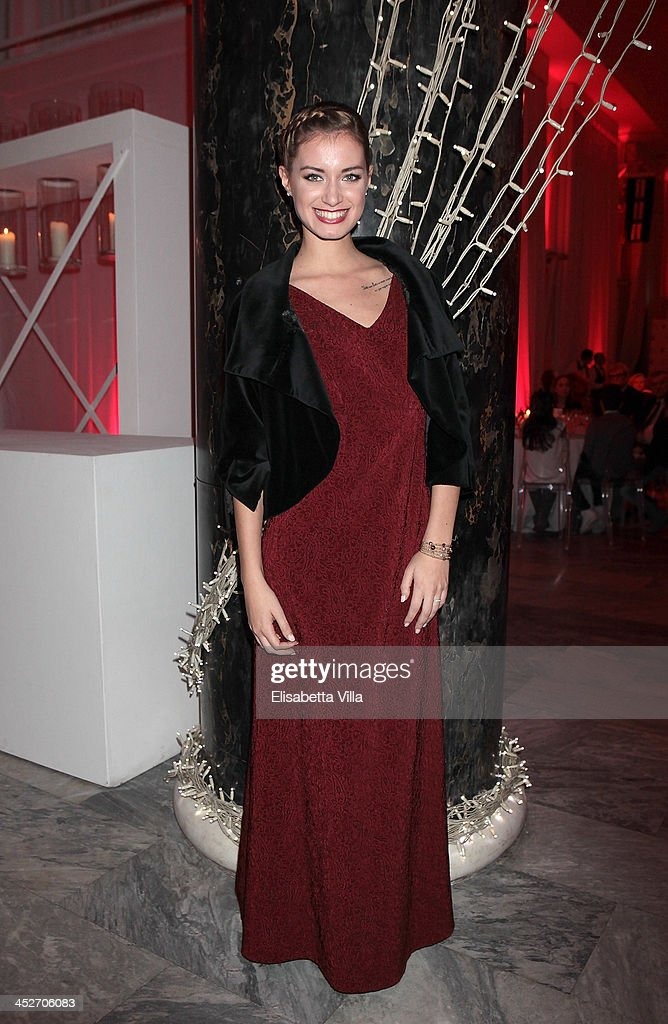 Giulia Arena attends The Children For Peace Benefit Gala Ceremony at Spazio Novecento on November 30, 2013 in Rome, Italy.