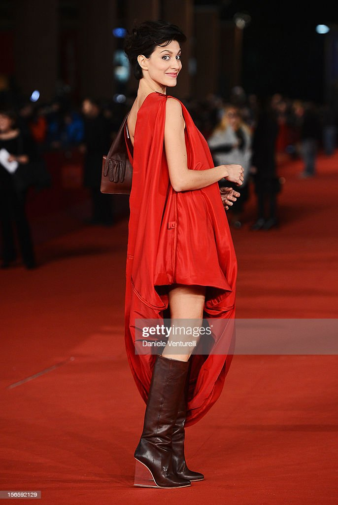 Giulia Bevilacqua attends the Closing Ceremony Red Carpet during the 7th Rome Film Festival at the Auditorium Parco Della Musica on November 17, 2012 in Rome, Italy.