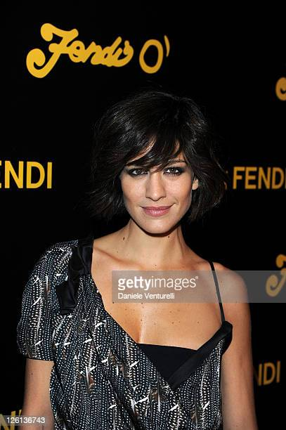 Giulia Bevilacqua attends the 'Fendi O' Fan di Fendi Party' during the Milan Fashion Week Womenswear Spring/Summer 2012 on September 22 2011 in Milan...