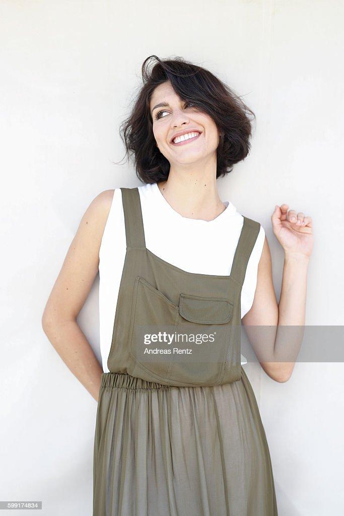 Giulia Bevilacqua poses during the 73rd Venice Film Festival on September 4, 2016 in Venice, Italy.