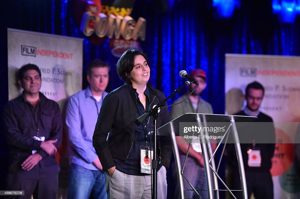 Giulia Corda Attends The Film Independent Sloan Summit At The Conga Room At LA  Live On