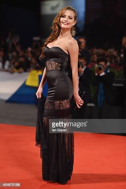 Giulia Elettra Gorietti attends 'Pasolini' Premiere during the 71st Venice Film Festival on September 4 2014 in Venice Italy