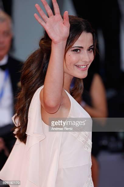 Giulia Elettra Gorietti attends the premiere of 'Hacksaw Ridge' during the 73rd Venice Film Festival at Sala Grande on September 4 2016 in Venice...