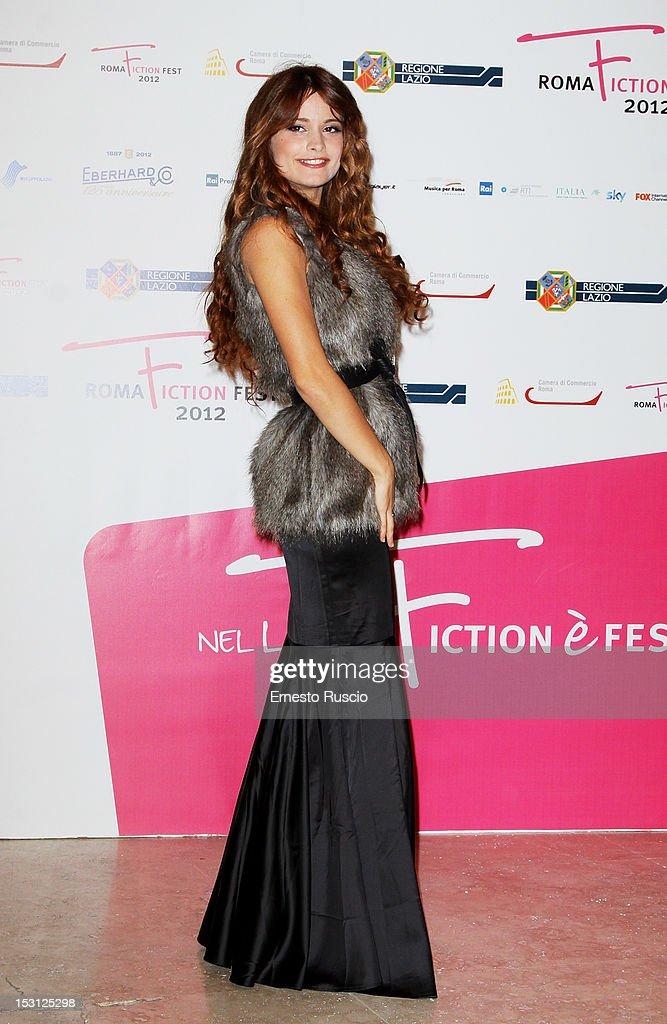 Giulia Elettra Gorietti attends the ' RomaFictionFest 2012 - Opening Ceremony' at Auditorium Parco Della Musica on September 30, 2012 in Rome, Italy.