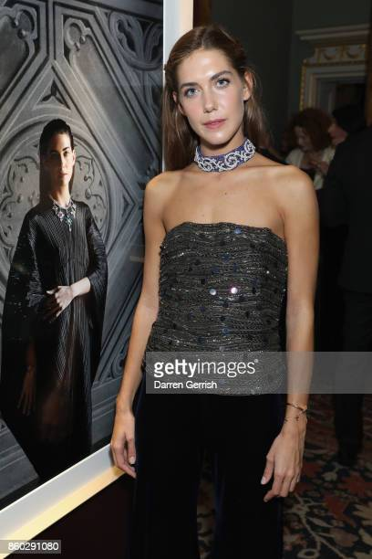 Giulia Magnoni attends Giampiero Bodino's 'Beauty Is My Favourite Colour' cocktails and dinner evening at Spencer House on October 11 2017 in London...