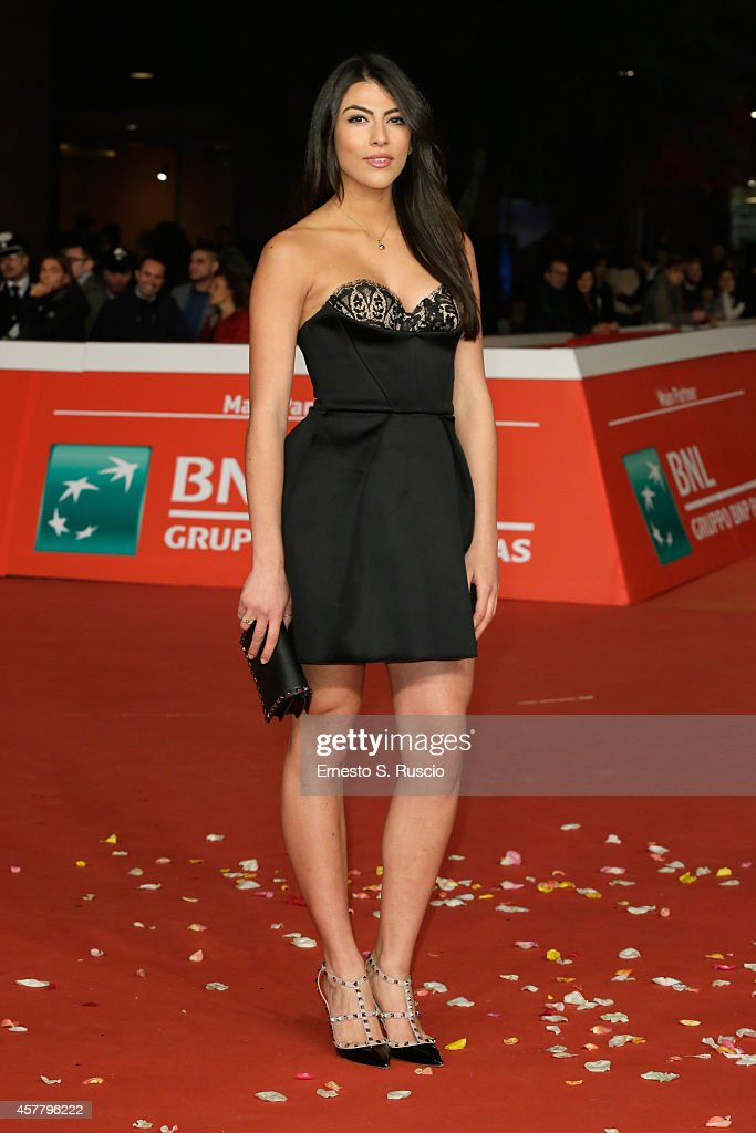 Giulia Salemi attends the 'Haider' Red Carpet during the 9th Rome Film Festival on October 24 2014 in Rome Italy
