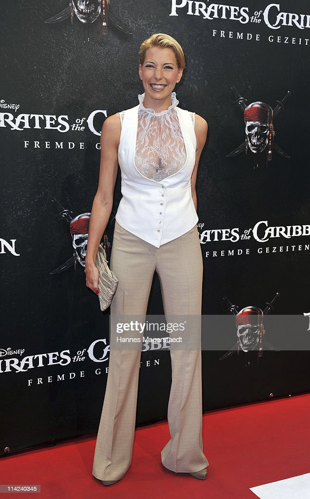 Giulia Siegel attends the Germany Premiere of 'Pirates Of The Caribbean: On Stranger Tides' at the Mathaeser Filmpalast on May 16, 2011 in Munich, Germany.