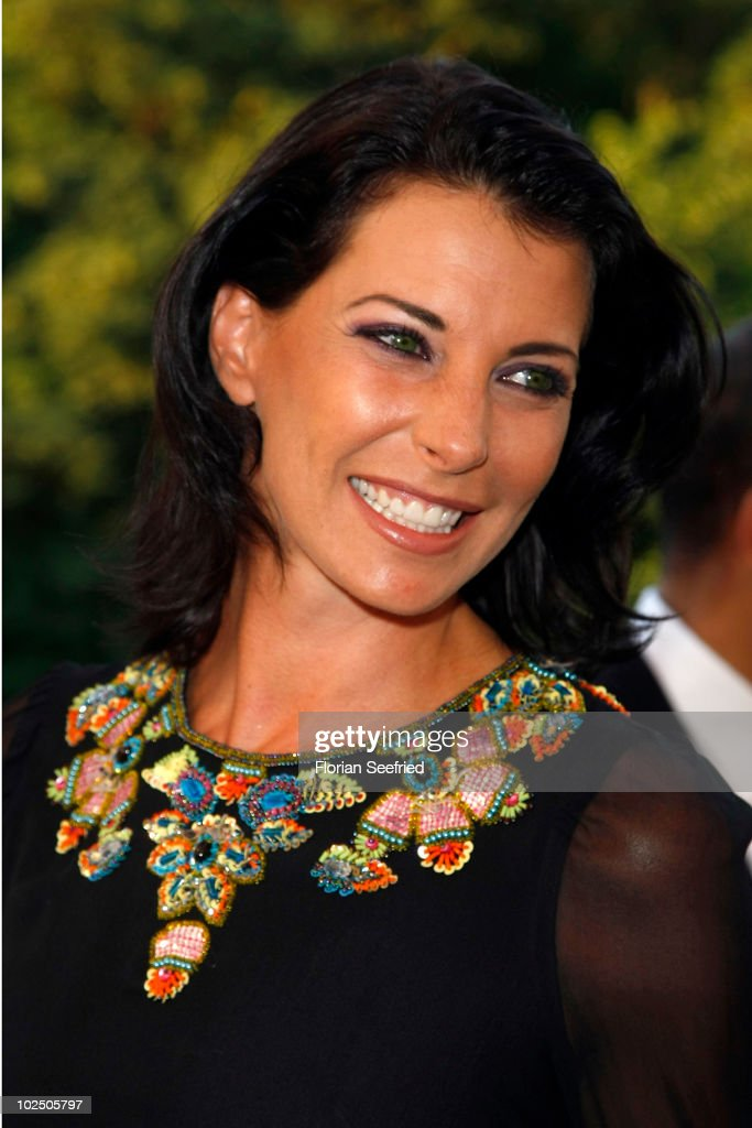 Giulia Siegel attends the 'Movie Meets Media' party during the Munich Film Festival at P1 Club on June 28 2010 in Munich Germany