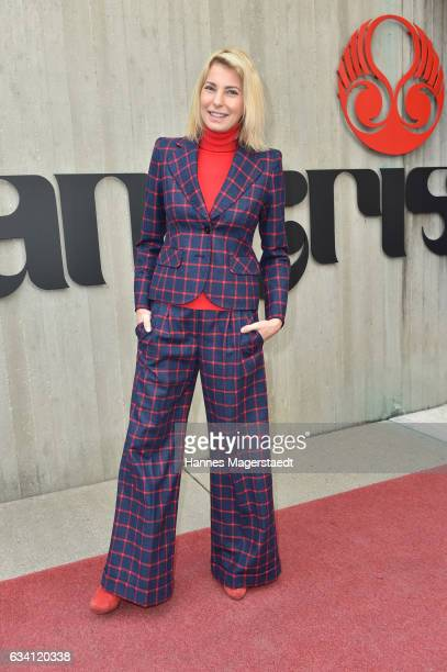 Giulia Siegel during the 'DKMS Life Charity Ladies Lunch' at Tantris Restaurant on February 7 2017 in Munich Germany