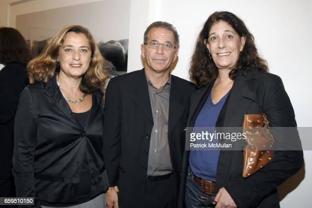 Giuliana Bruno Andrew Fierberg and Betsy Sussler attend CLIFFORD ROSS Gallery Opening at Sonnabend Gallery on October 24 2009 in New York City