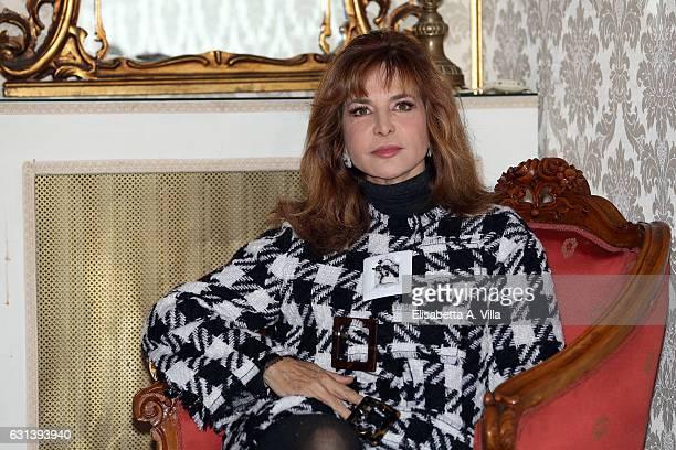 Giuliana De Sio attends a photocall for 'Il Bello Delle Donne Alcuni Anni Dopo ' tv series at Palazzo Ferrajoli on January 10 2017 in Rome Italy