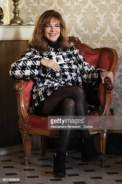Giuliana De Sio attends a photocall for 'Il Bello Delle Donne' tv series on January 10 2017 in Milan Italy