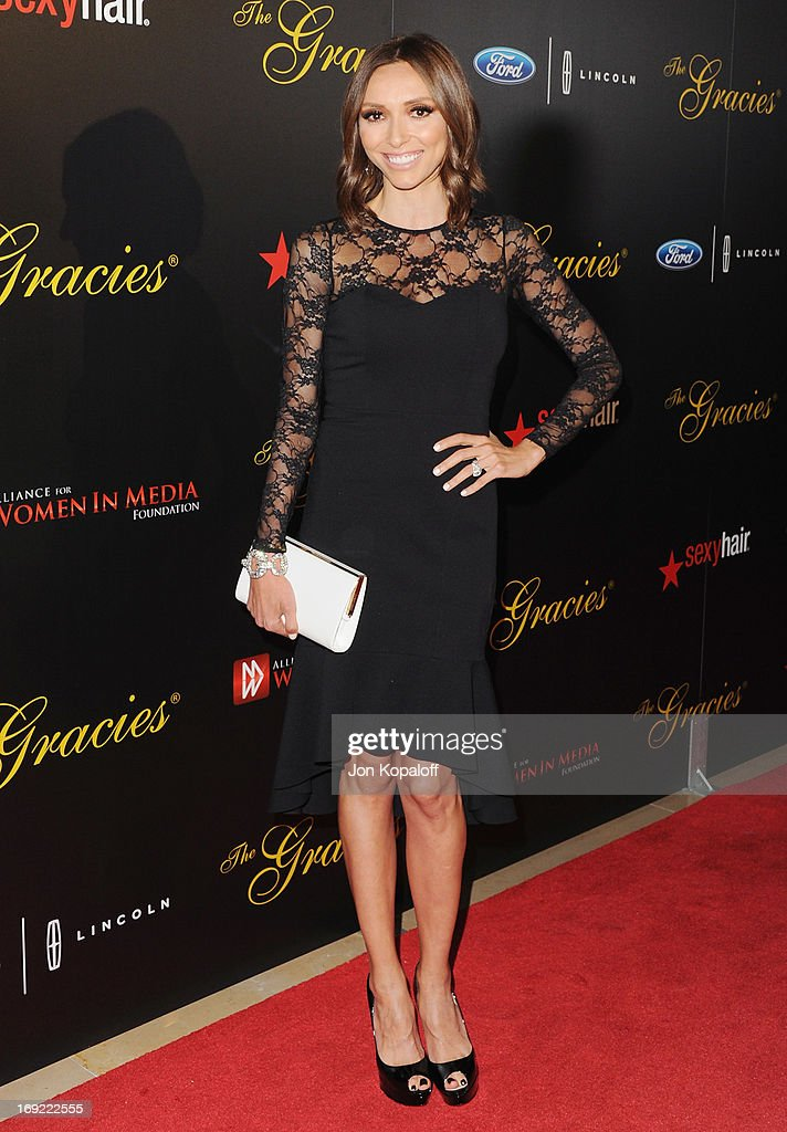 Giuliana Rancic arrives 38th Annual Gracie Awards Gala at The Beverly Hilton Hotel on May 21, 2013 in Beverly Hills, California.