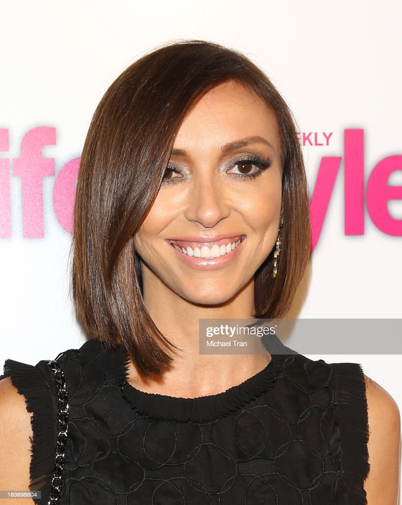 <a gi-track='captionPersonalityLinkClicked' href=/galleries/search?phrase=Giuliana+Rancic&family=editorial&specificpeople=556124 ng-click='$event.stopPropagation()'>Giuliana Rancic</a> arrives at Life & Style presents 'Hollywood In Bright Pink' held at Bagatelle on October 9, 2013 in Los Angeles, California.