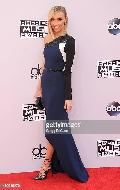 Giuliana Rancic arrives at the 2014 American Music Awards at Nokia Theatre LA Live on November 23 2014 in Los Angeles California