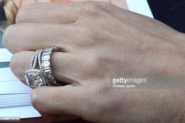 giuliana and bill rancic at santa monica place - Giuliana Rancic Wedding Ring