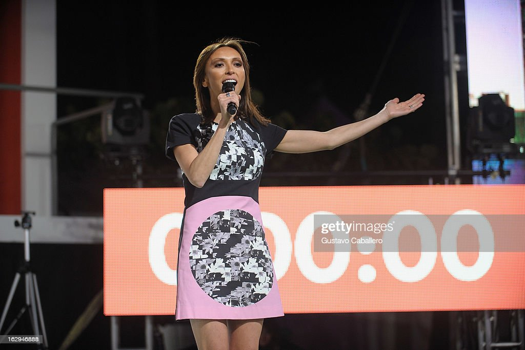 Giuliana Rancic attends Cotton's 24 Hour Runway Show on South Beach on March 1, 2013 in Miami Beach, Florida.