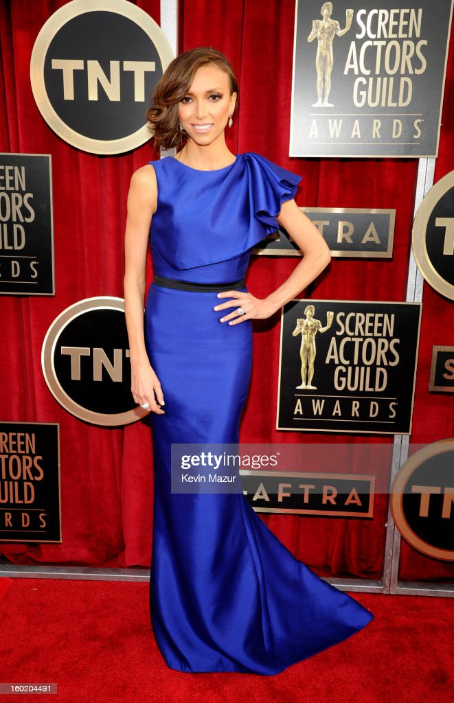 Giuliana Rancic attends the 19th Annual Screen Actors Guild Awards at The Shrine Auditorium on January 27, 2013 in Los Angeles, California. (Photo by Kevin Mazur/WireImage) 23116_016_0018.jpg