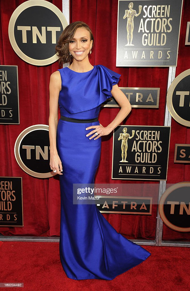 Giuliana Rancic attends the 19th Annual Screen Actors Guild Awards at The Shrine Auditorium on January 27, 2013 in Los Angeles, California. (Photo by Kevin Mazur/WireImage) 23116_016_0020.jpg