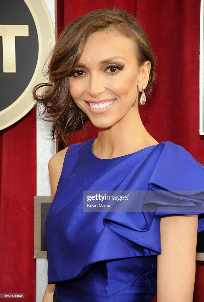 Giuliana Rancic attends the 19th Annual Screen Actors Guild Awards at The Shrine Auditorium on January 27, 2013 in Los Angeles, California. (Photo by Kevin Mazur/WireImage) 23116_016_0025.jpg