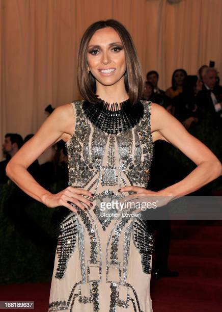 Giuliana Rancic attends the Costume Institute Gala for the 'PUNK Chaos to Couture' exhibition at the Metropolitan Museum of Art on May 6 2013 in New...