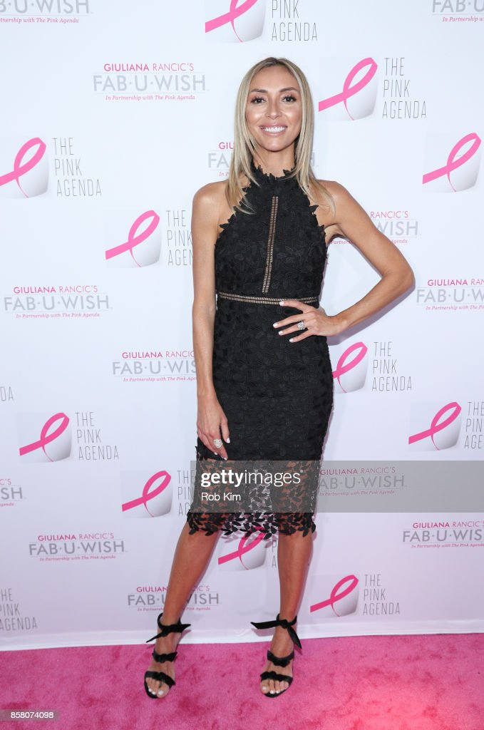 Giuliana Rancic attends The Pink Agenda 10th Annual Gala at Three Sixty Degrees on October 5, 2017 in New York City.