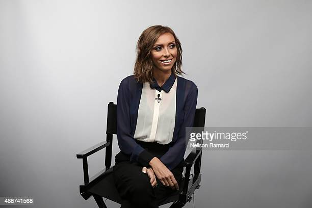 Giuliana Rancic discusses her new book 'Going Off Script' at LinkedIn Studios NYC on April 6 2015 in New York City